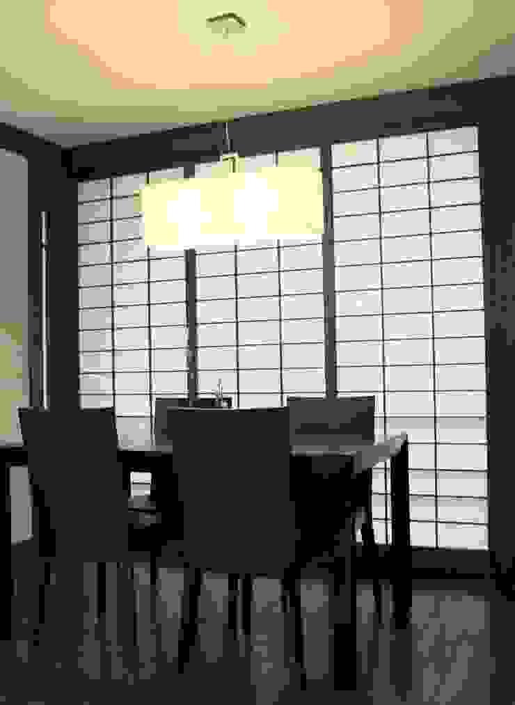 箱根の家 クラシックデザインの ダイニング の 一級建築士事務所Architec クラシック