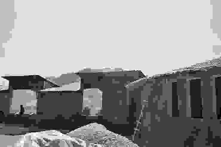 Centro de Producción de orgánicos Chilsec Casas rústicas de Komoni Arquitectos Rústico Bambú Verde