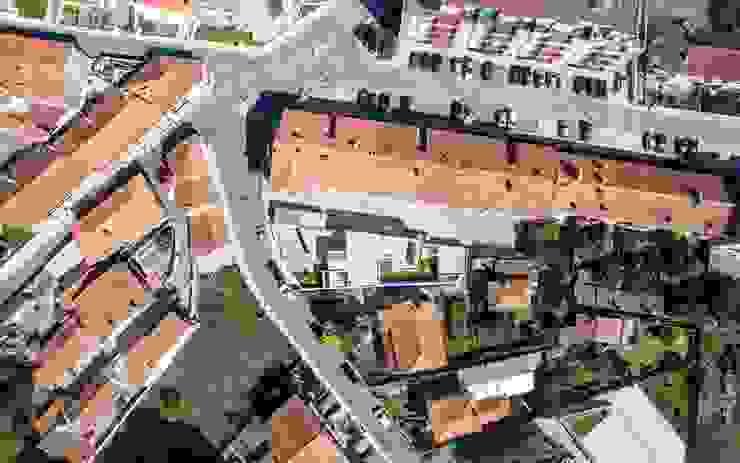casa 116 Casas modernas por bo | bruno oliveira, arquitectura Moderno Tijolo