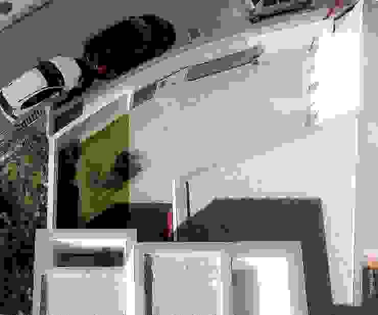 casa 116 Jardins de Inverno modernos por bo | bruno oliveira, arquitectura Moderno Granito