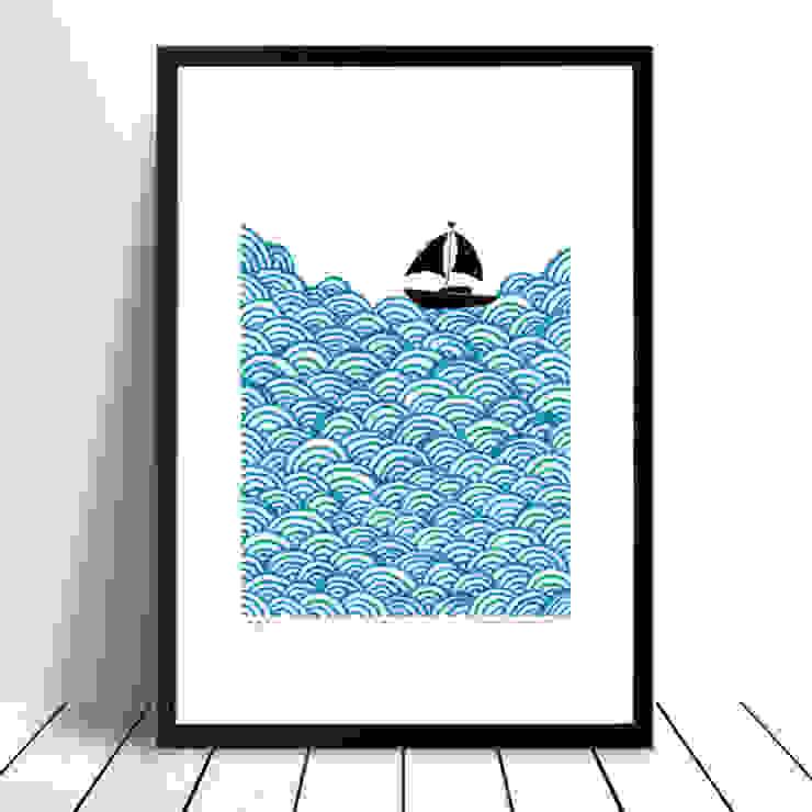Bigger Boat: modern  by Lu West, Modern
