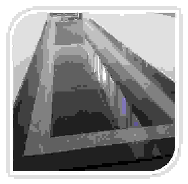 Revestimento de piso em Granito Corredores, halls e escadas modernos por BELGRAN, LDA Moderno