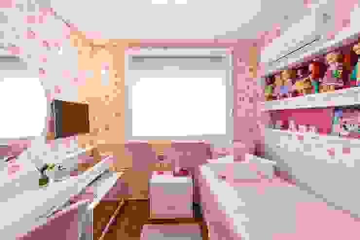 Dormitório Filha por FV Moderno Papel
