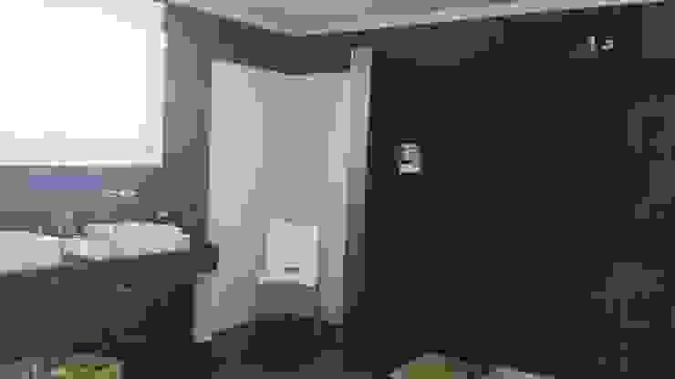 Arquitectos Building M&CC - (Marcelo Rueda, Claudio Castiglia y Claudia Rueda) Salle de bain rustique