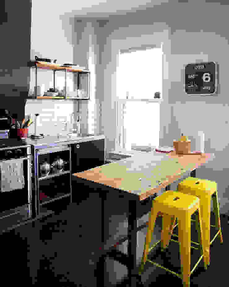 Sala de jantar pequena? Veja essas ideias. por Casa de Valentina Moderno