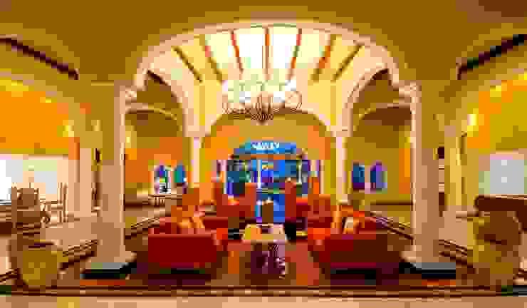 Lobby Casa Velas de MC Design Ecléctico Mármol