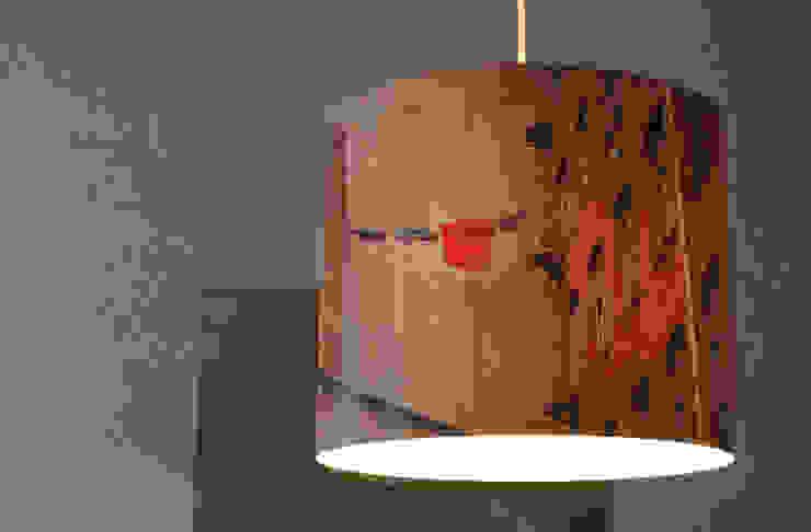 par Fotolampe Berlin Industriel Synthétique Marron
