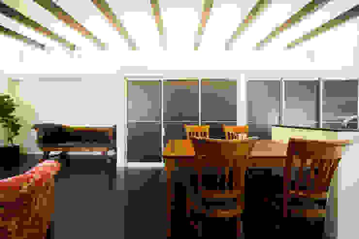 緑洞の家 ダイニング の フォーレストデザイン一級建築士事務所