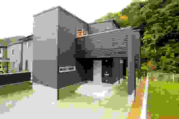 緑洞の家 外観 の フォーレストデザイン一級建築士事務所