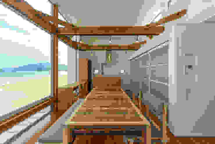 空と海な家 ダイニング フォーレストデザイン一級建築士事務所