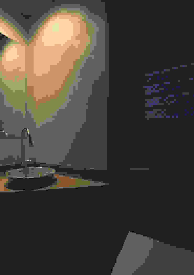 東花池の家 モダンスタイルの お風呂 の 株式会社 岡﨑建築設計室 モダン