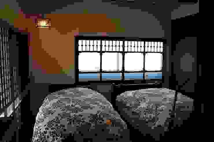 骨董建具の家 クラシカルスタイルの 寝室 の 大出設計工房 OHDE ARCHITECT STUDIO クラシック