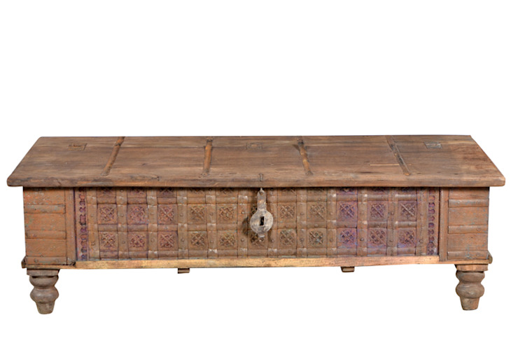 Antique Box Storage: classic  by Purewood,Classic Wood Wood effect