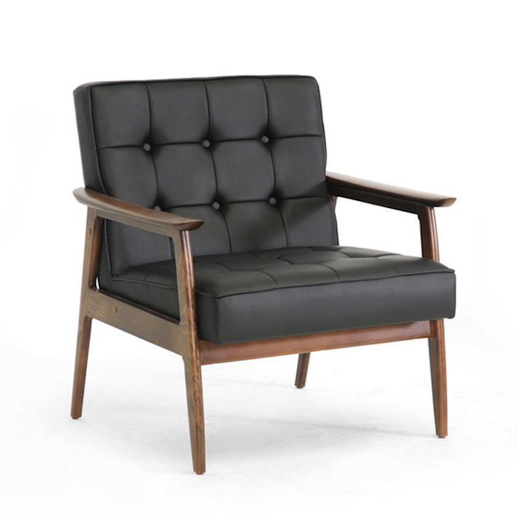 Leather Upholstery : classic  by Purewood,Classic Leather Grey