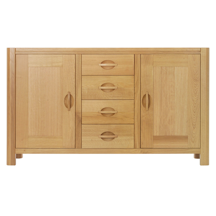 Cabinets: modern  by Purewood,Modern Wood Wood effect
