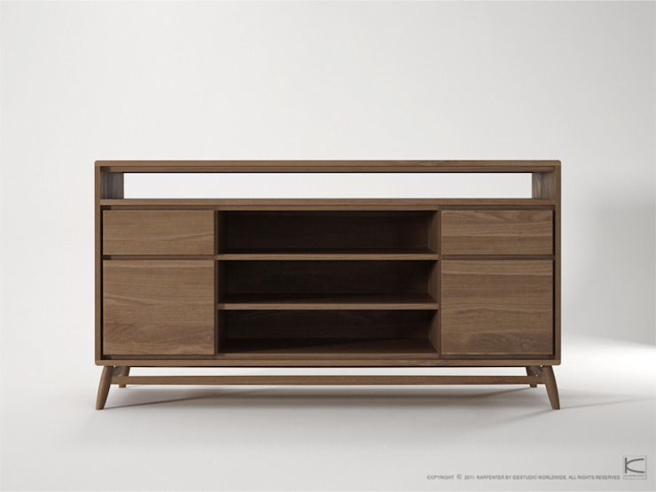 TV Stand and Cabinet: modern  by Purewood,Modern Wood Wood effect