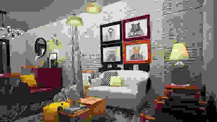 Rotoarquitectura Living roomAccessories & decoration