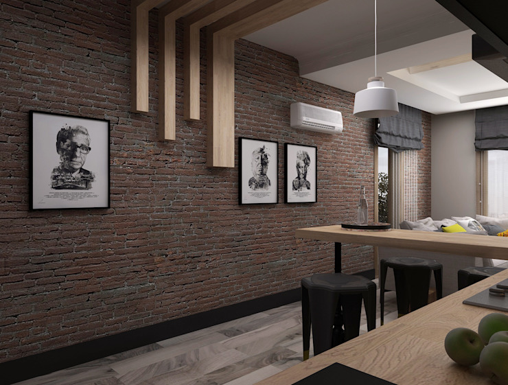 Minimalist kitchen by Ceren Torun Yiğit Minimalist