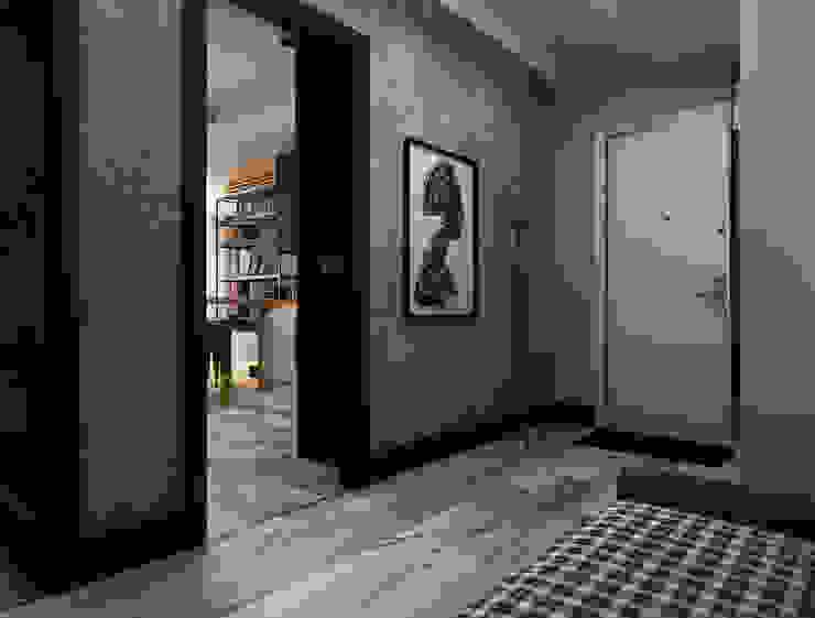 Stüdyo Daire Tasarımı Ceren Torun Yiğit Minimalist Koridor, Hol & Merdivenler