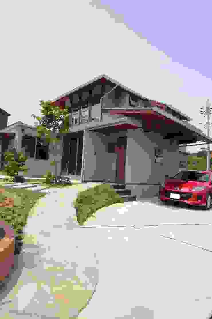 霞ヶ浦の家 ラスティックな 家 の 大出設計工房 OHDE ARCHITECT STUDIO ラスティック