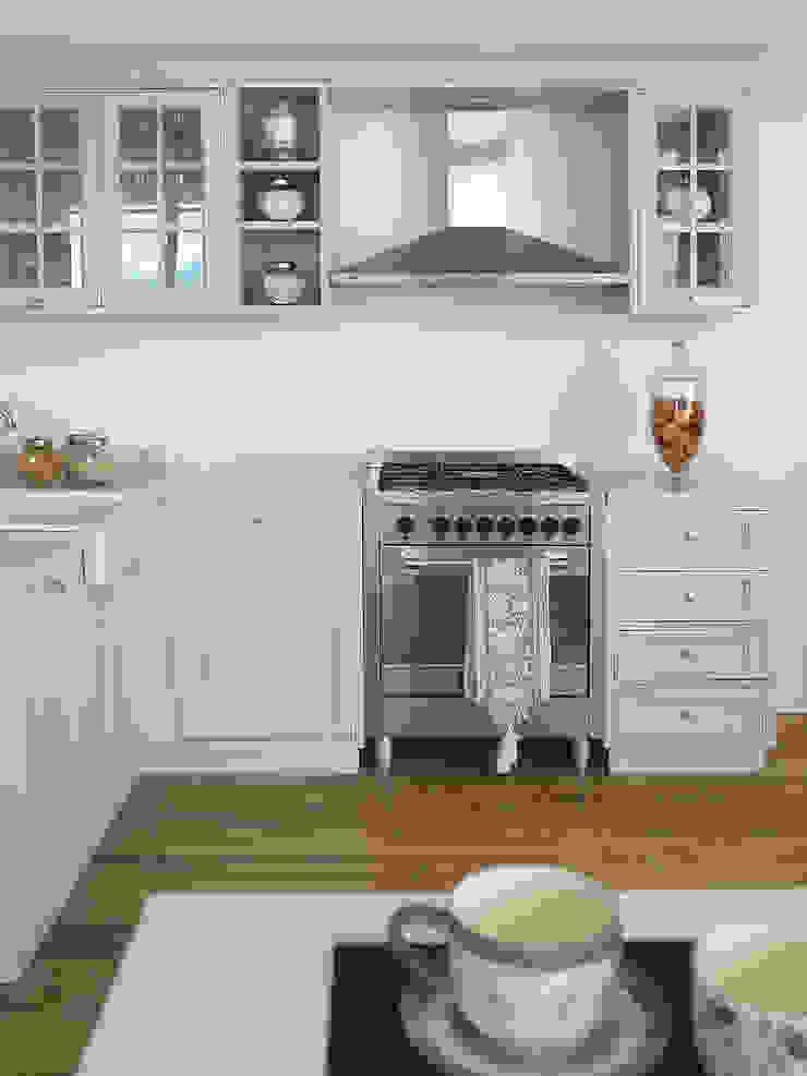LA BOTTEGA DEL FALEGNAME ห้องครัว ไม้จริง Grey
