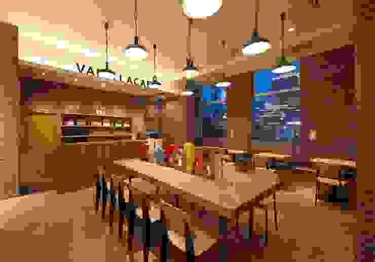 VANILLA BEANS みなとみらい本店 オリジナルな 壁&床 の EMBODYDESIGN オリジナル
