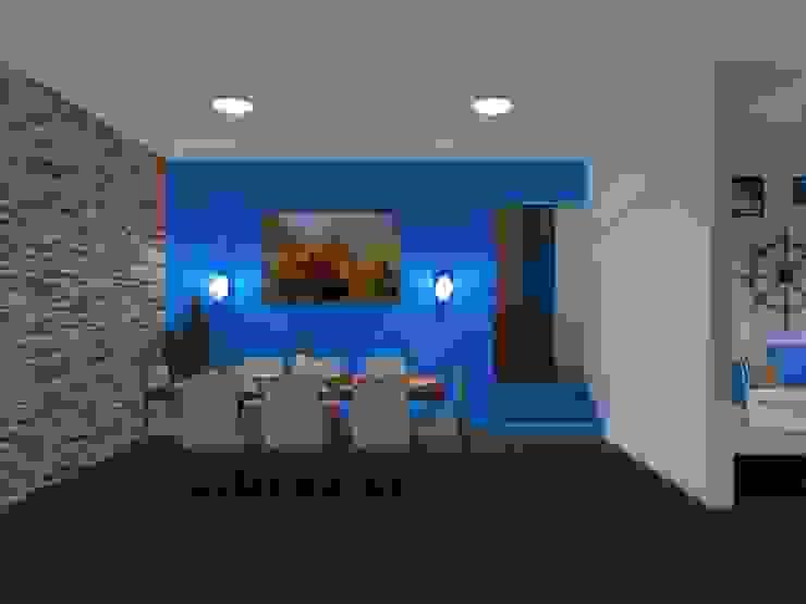 Modern dining room by DISEÑOS G2 Modern