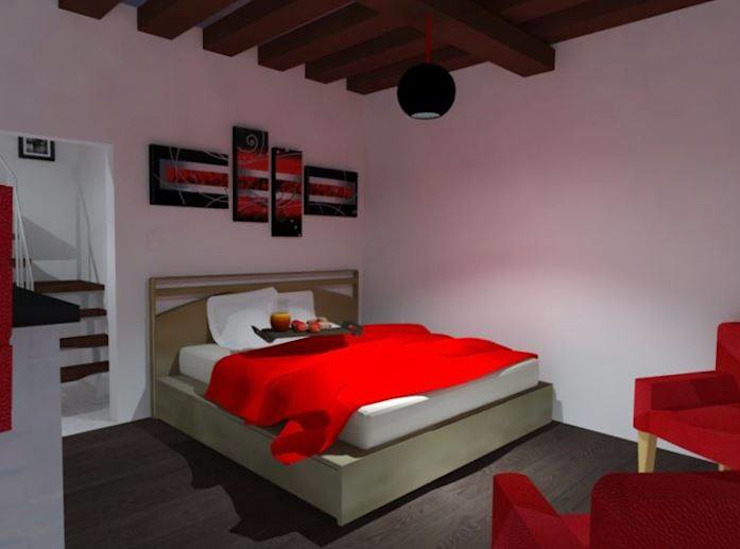 Modern style bedroom by DISEÑOS G2 Modern