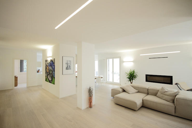 Progetti Modern Living Room by luigi bello architetto Modern
