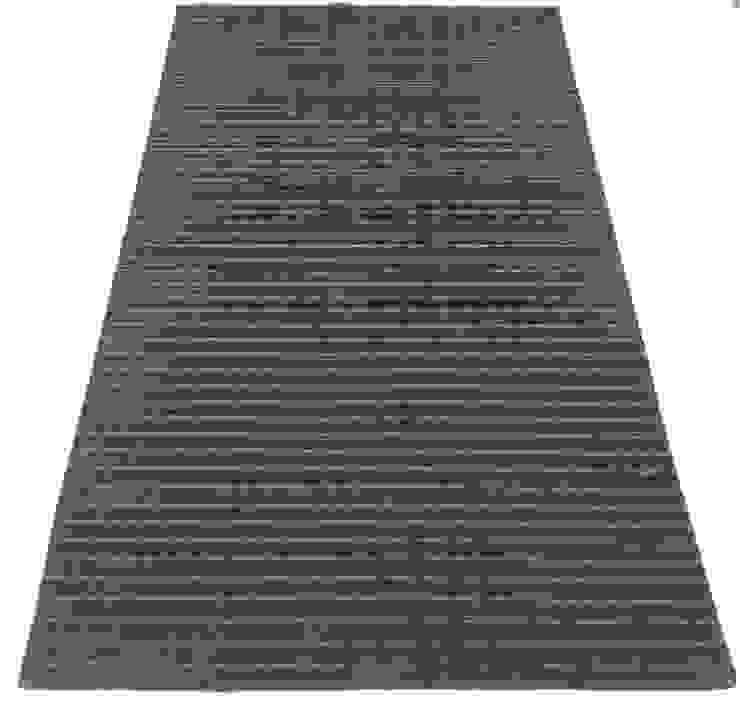 Handloom by Rug Factory Industrial Synthetic Brown