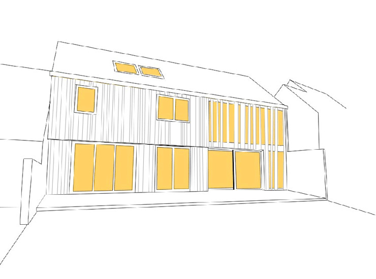 Casas de estilo rural de LAUS architectes Rural