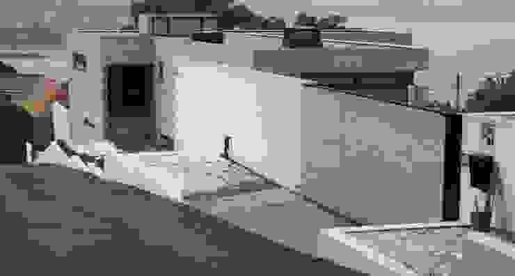 VIVIENDA UNIFAMILIAR EN LA PLAYA DE ESPIÑEIRO Casas de estilo moderno de EPB42 Arquitectura y Planeamiento, S.L Moderno
