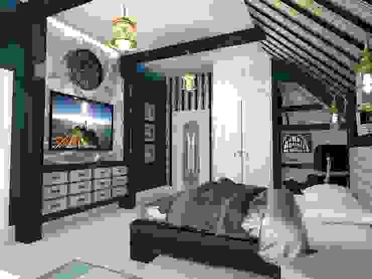 Современный классицизм Детские комната в эклектичном стиле от Студия Маликова Эклектичный