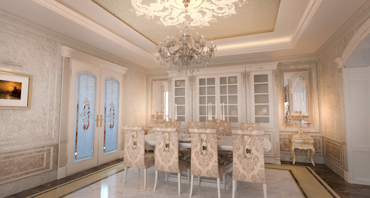 Classic style dining room by Студия Маликова Classic