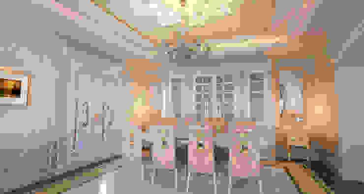 Mansion: Столовые комнаты в . Автор – Студия Маликова, Классический