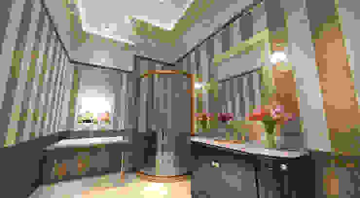 Mansion: Ванные комнаты в . Автор – Студия Маликова, Классический Керамика