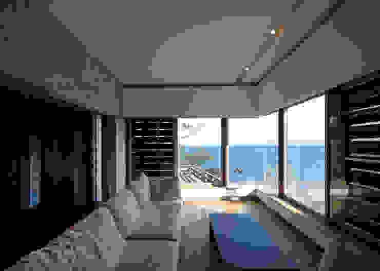Modern living room by 大井立夫設計工房 Modern