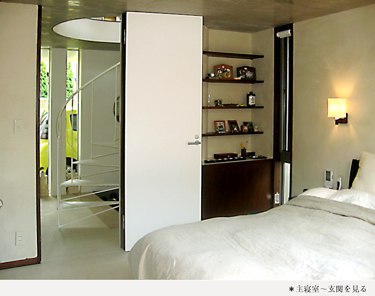 H氏のロハスなロ・ハウス クラシカルスタイルの 寝室 の 太田照己/都市・建築デザインファーム クラシック