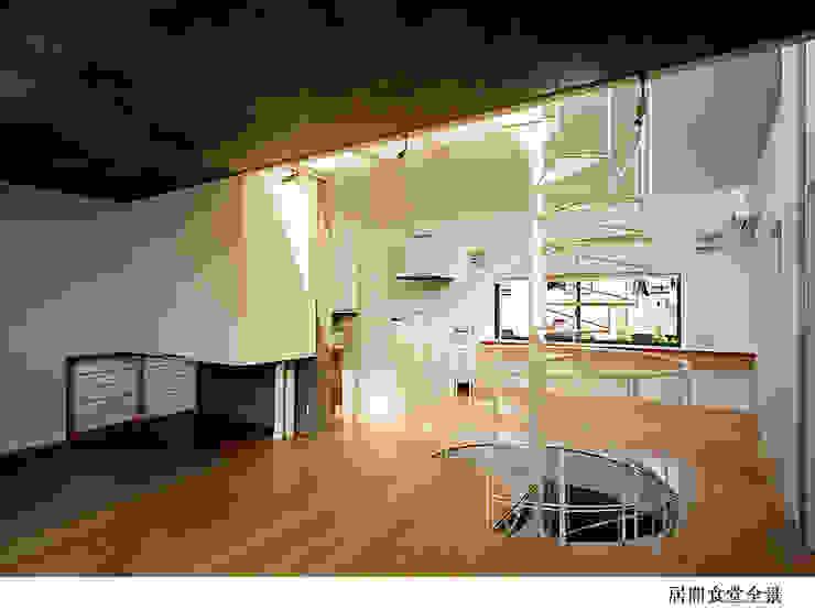 H氏のロハスなロ・ハウス インダストリアルな 玄関&廊下&階段 の 太田照己/都市・建築デザインファーム インダストリアル