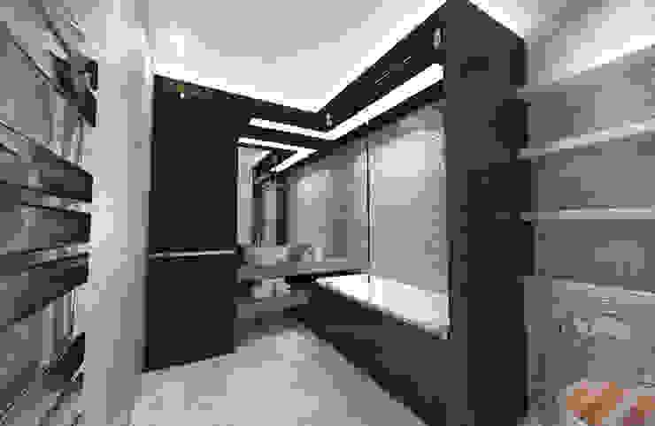 Eclectic style bathroom by Студия Маликова Eclectic Ceramic