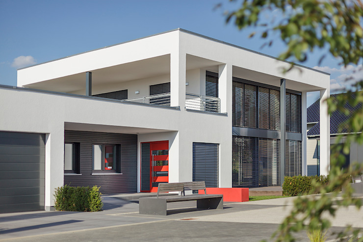 Дома в стиле модерн от Lopez-Fotodesign Модерн