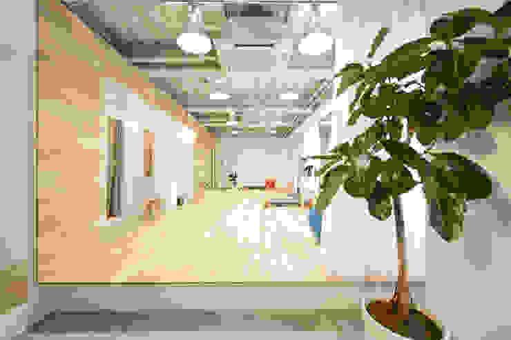 gym A モダンな商業空間 の seets一級建築士事務所 モダン