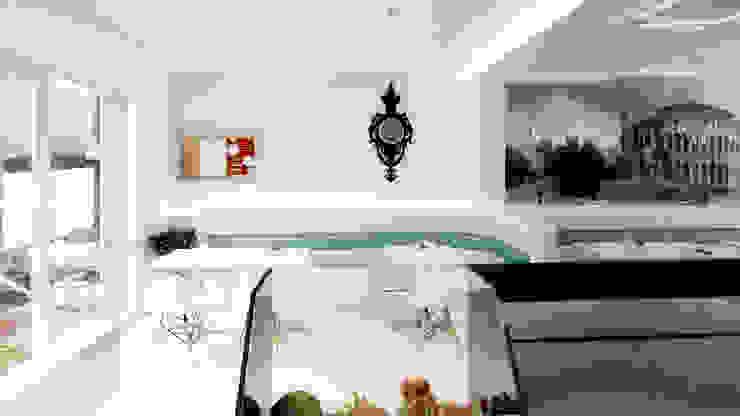 LA ROMANA | Gelateria – Creperia Espaços de trabalho minimalistas por Rúben Ferreira | Arquitecto Minimalista