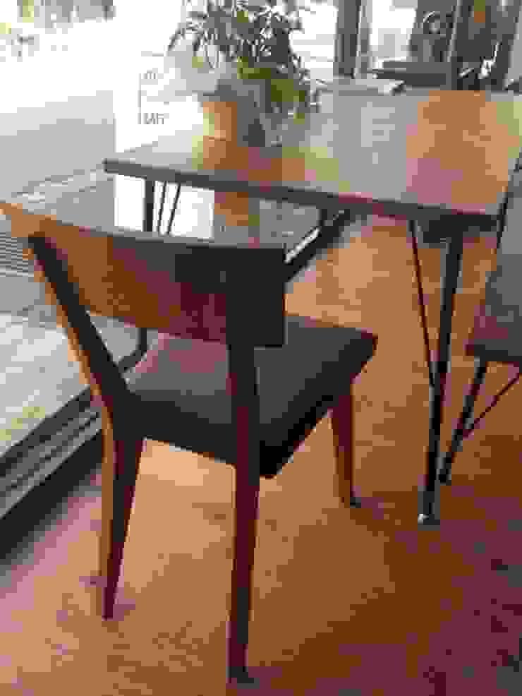 ダイニングテーブル: design studio Katachi が手掛けたスカンジナビアです。,北欧