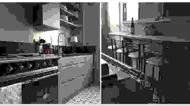 CUISINE - PARIS 17 Cuisine moderne par ARCHITECTURAL DECO Moderne Granite