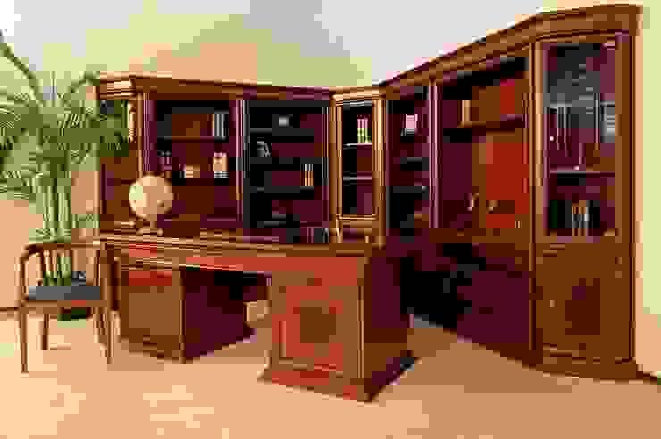 Libreros y escritorio Córdoba de Muebles Maple Clásico