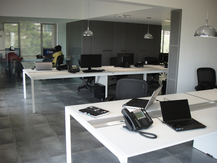IP Forest Site Modern office buildings by Touch International (Mumbai & Pune) Modern