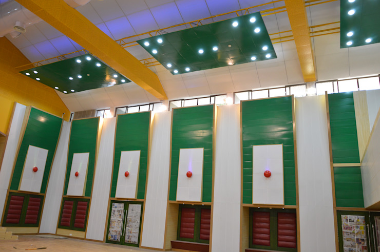 HPCL Ceiling and Panelling Modern office buildings by Touch International (Mumbai & Pune) Modern