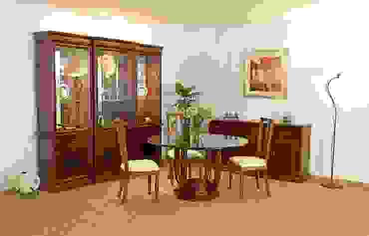 Comedor redondo Córdoba de Muebles Maple Clásico