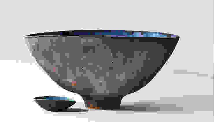 Gran azul 02 de Silvia Valentín Cerámica Minimalista Cerámica